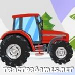 Tractor Snowy